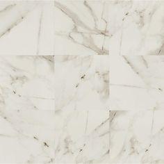 Bedrosians SAMPLE - Calacatta Porcelain Field Tile in Polished Ceramic Mosaic Tile, Stone Mosaic Tile, Mosaic Glass, Porcelain Tiles, Porcelain Countertops, Quartz Countertops, White Porcelain, Granite, Calacatta Tile