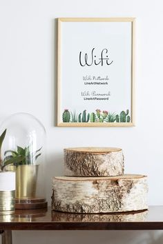 Wifi Password Sign Printable Cactus Print Digital Wall Art Guest Room Sign Welcome Sign Editable Wifi Sign Personalized Office Decor Guest Room Colors, Guest Room Sign, Digital Wall Art, Home Decor Wall Art, Modern Wall Art Prints, Room Signs, Digital Wall, Wifi Password Sign, Cactus Print