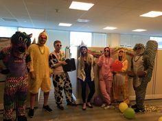 Google Shopping Team Costume 2015 #partyanimals