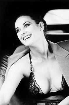Demi Moore by Ellen Von Unwerth _ New York, 1996.