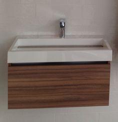 Bathroom #woodsink