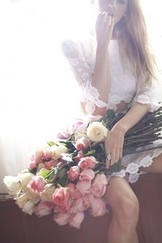 *Never received a dozen roses and so would have loved the one who dared to give them to me!