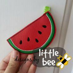 yummy watermelon festival key fob design in by designsbylittlebee