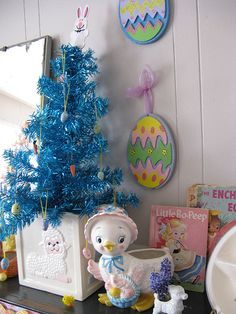 Yes, TWO Easter trees | Flickr - Photo Sharing!