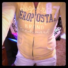 Aeropostale Zip-up Hoodie Good condition, no stains or fading. Only been worn a few times Areopostale  Tops Sweatshirts & Hoodies