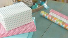 Gift Wrapping Video Tutorials: How to Wrap a Present #Hallmark #HallmarkIdeas