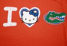 Girls My U I Heart Hello Kitty T-shirt $25.99