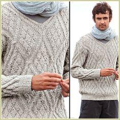 49 meilleures images du tableau Tricot hommes   Knitting patterns ... f82e17918ce