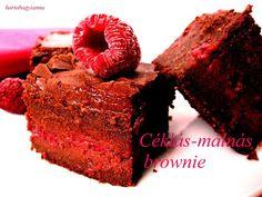 Kakukkfű: Málnás brownie (diabetikus) Keto, Food, Essen, Meals, Yemek, Eten