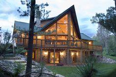 Log Cabin by Golden Eagle Log Homes |
