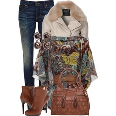 """""""Jeans and Heels"""" by debpat on Polyvore"""