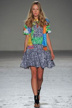 Stella Jean Spring 2015 Ready-to-Wear