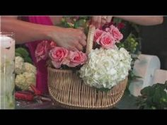 Wedding Floral Arrangements : How to Make Spring Flower Arrangements - YouTube