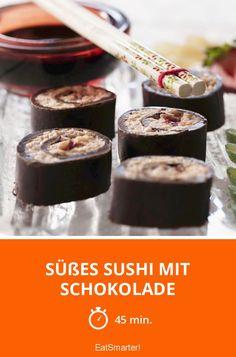 Süßes Sushi mit Schokolade - smarter - Zeit: 45 Min. | eatsmarter.de
