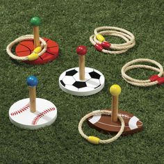 Sports Ring Toss Game - Zoom