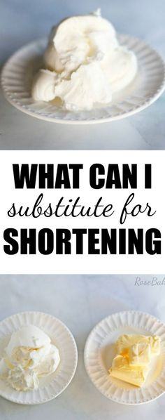 What is shortening?