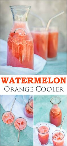 Refreshing, tasty and full of goodness, this watermelon and orange smoothie will quench even the biggest thirst.