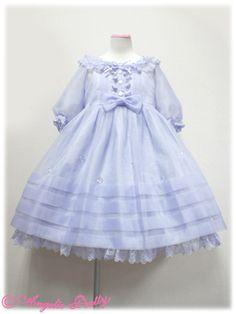"Angelic Pretty ""Piece of Glass Dolls"" OP in lavender"