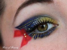 Sailor Moon Make Up by http://rosesofbeauty.blogspot.de/2012/08/sailor-moon.html