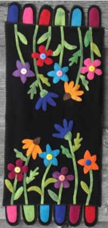 Wildflower Garden by Upper Canada Quiltworks