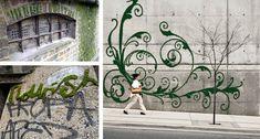 moss graffit artwork examples