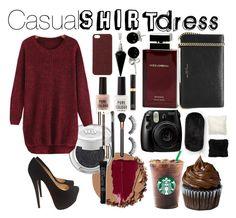 """""""Cherry Sass"""" by red-insanity-love ❤ liked on Polyvore featuring Berkshire Blanket, Urban Decay, Christian Louboutin, New Look, MAC Cosmetics, Clarins, Smashbox, Bling Jewelry, BlackMoon and Scotch & Soda"""
