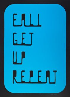 """Fall Get Up Repeat"", by Matthew Hoffman (Single piece) - Art for Tim's Heart Auction"
