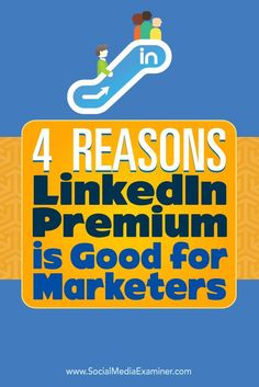 Do you use LinkedIn?  While most people start with the free version of LinkedIn, there are a number of useful paid features that make a Premium account worth the investment.  In this article, youll discover four ways LinkedIn Premium can help you improve