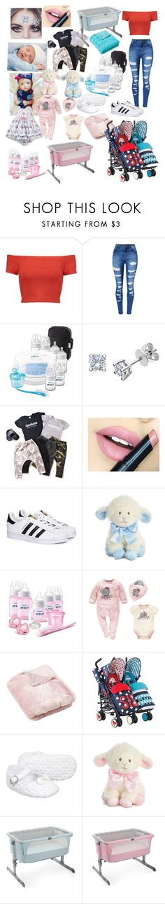 """Babysitting the twins, Kiara and Kyle"" by gemma-mawdsley ❤ liked on Polyvore featuring Alice + Olivia, WithChic, Fiebiger, adidas, Laura Ashley, CHICCO and Aquarelle"