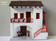 Resultado de imagen para maquetas de casas coloniales
