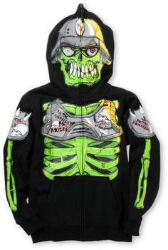 DC Boys Moto Full Zip Up Face Mask Hoodie | Mask design, Face ...