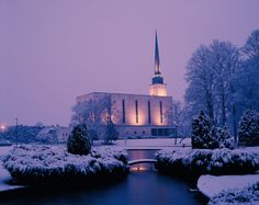 London England Temple of The Church of Jesus Christ of Latter-day Saints. #LDS #Mormon