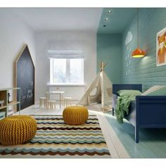mommo design: 10 ROOMS FOR LITTLE BOYS #kinderkamer #jongens #jongenskamer #nursery #boys blauw turkooise blue