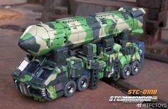 TFC Toys STC-01NB Commander Nuclear Blast Version (Rolling Thunder Optimus Prime) Rolling Thunder, Optimus Prime, Toys, Third Party, Transformers, Activity Toys, Clearance Toys, Gaming, Games