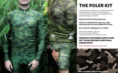 Found: Poler Camo Cycling Kit