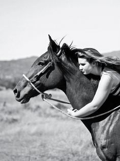 My dad always wanted me to win shows, and use saddles. But I had different desires, I wanted to feel the freedom of riding s horse with complete trust. - Remembering Benjerman, by Bethany Werda