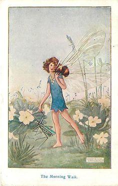 Constance Symonds - English - vintage postcard