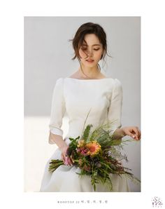 Fairy Wedding Dress, Wedding Girl, Elegant Wedding Dress, Dream Wedding, Wedding Dresses, Korean Wedding Photography, Muslimah Wedding, Minimal Wedding, Bridal Photoshoot