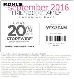 Kohls coupons & Kohls promo code inside The Coupons App. off at Kohls, or online via promo code April Free Printable Coupons, Free Printables, Kohls Promo Codes, Coupons For Boyfriend, Coupon Stockpile, Love Coupons, Grocery Coupons, Extreme Couponing, Shopping Day