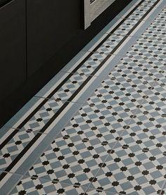 black and white tiles from Topps tiles
