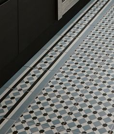 black and white tiles from Topps tiles