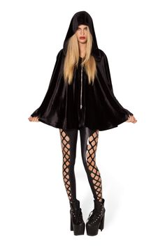 Little Black Riding Hood › Black Milk Clothing ... the big bad wolf better look out with this one.