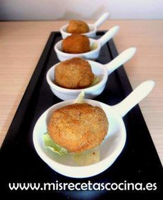 Croquetas de Pescado hechas con thermomix Best Appetizers, Canapes, Fish And Seafood, Love Food, French Toast, Healthy Eating, Vegetables, Cooking, Breakfast