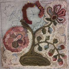 Incredible standing wool work by Laura Pierce (flyingdoghookery.com)