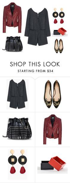 """look del dia"" by aliciagorostiza on Polyvore featuring moda, Kate Spade, STELLA McCARTNEY, Balenciaga, Chico's y The Unbranded Brand"