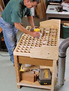 Preview A Downdraft Sanding Table Fine Woodworking Article