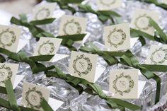 batizado verde e branco
