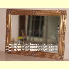 Baroque Mirror 094 - Raisa House Indonesia #Mirrorfurniture #Woodenfurniture #Mahoganyfurniture #Bedsidefurniture #Bedsetfurniture #Livingfurniture #Antiquefurniture #FrenchFurniture #IndonesiaFurniture Apartment Projects, Reproduction Furniture, Furniture Offers, French Mirror, Mirrored Furniture, Jepara, Hotel Project, Furniture Factory, Luxury Homes