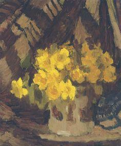 Daffodils, Grace Henry. (1868 - 1953)