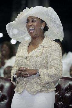 Pastor Debra B. Morton, Current First Lady of Full Gospel Baptist Church Fellowship